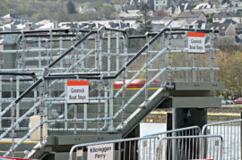 GOUROCK LINKSPAN OUT OF ACTION 'UNTIL FURTHER NOTICE'