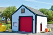 Strachur fire station shut