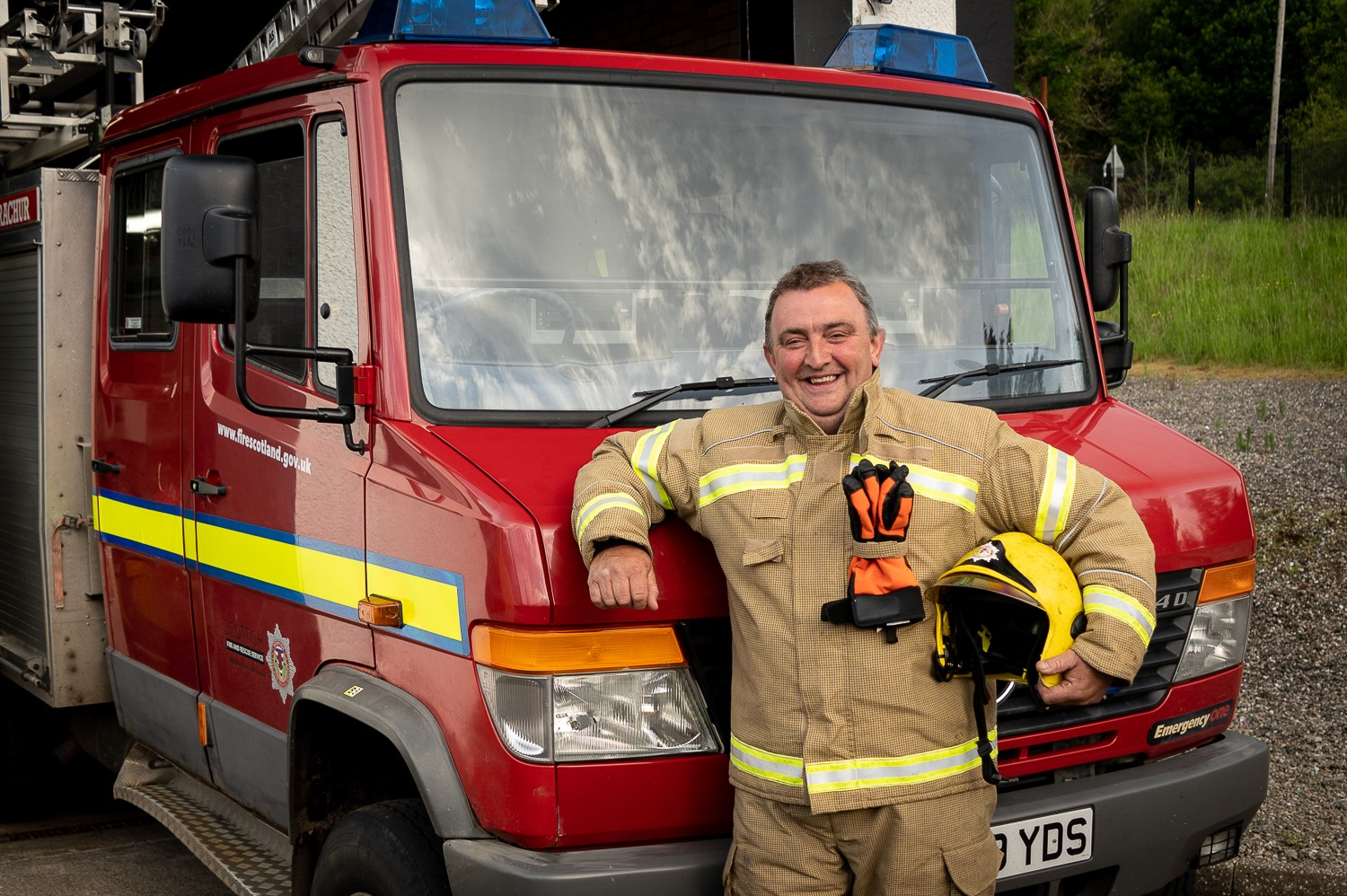 Call out for new fire crew members in Strachur