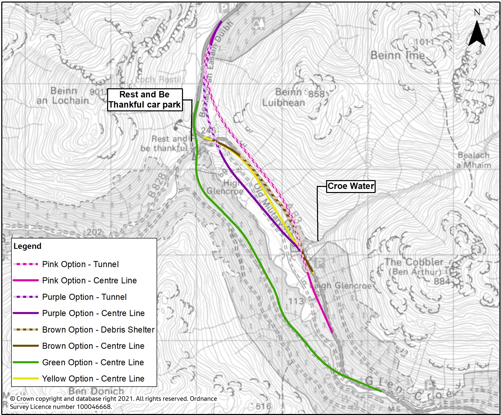 Preferred A83 route identified