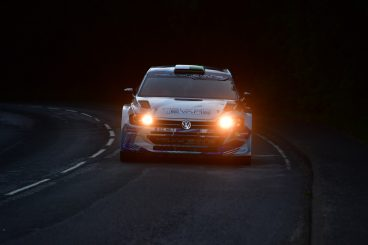 Argyll Rally in slow motion