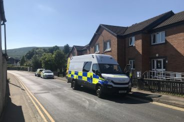 Ongoing police incident in Dunoon