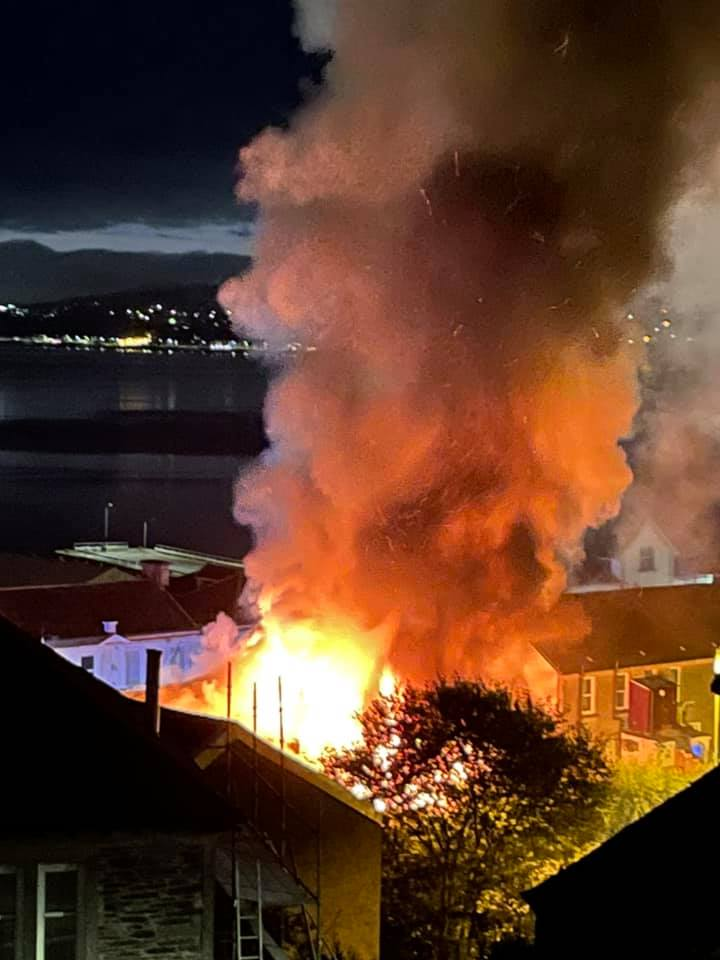 Man remanded, youth on bail after Dunoon fire